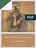 Luigi Pirandello - Biri Hiç Biri Binlercesi