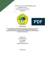 Analisis Perbedaan Pembiayaan Berbasis Indonesian Case Base Dalam Jasa Pelayanan Jaminan Kesehatan Masyarakat Dibandingkan Dengan Tarif Riil Pada Rumah Sakit Umum Daerah Penajam Paser Utara