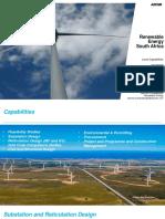 AECOM SA Renewable Energy Presentation