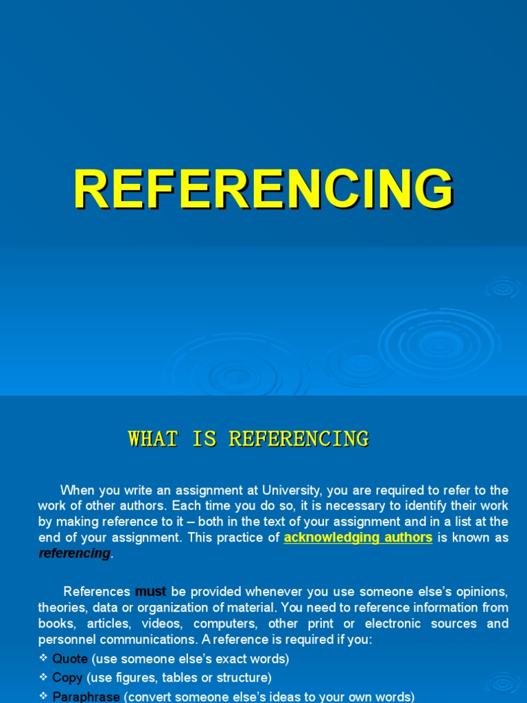 Referencing ii session citation information ccuart Image collections