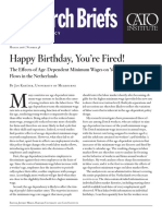 Happy Birthday, You're Fired! The Effects of Age-Dependent Minimum Wages on Youth Employment Flows in the Netherlands