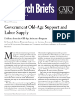 Government Old-Age Support and Labor Supply