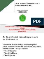 DAKWAH ISLAM DI NUSANTARA DAN ASAL – USUL MUHAMMADIYAH.pptx
