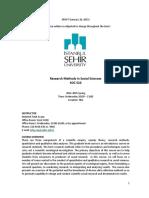 SOC 510 Research Methods