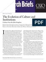 The Evolution of Culture and Institutions