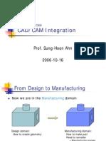 CADCAM Integration