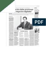Legislación peruana debe promover nuevos negocios digitales