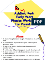 ashfield park school parents phonic meeting 2016