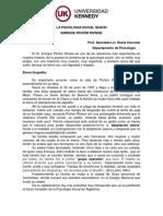 Psicología Social 2015. La Psicología Social Según E. Pichón Riviere. (2)