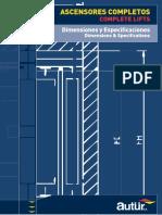 Publication Especificaciones Ascensores