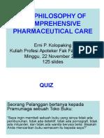 1. Philosophy of Phar. Care