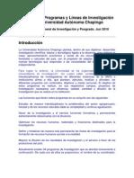 Catálogo de Investigación UACh