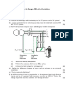 2014 Electrical Installation Model Paper IESLCE