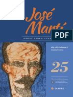 Jose Marti Tomo 25