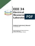 EEE 34 Student Laboratory Manual v2.0