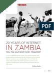 20 Years of Internet in Zambia