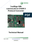 Coolsign Sib Casinolink-To-cham II Technical Manual
