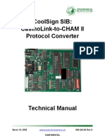 Coolsign Sib Casinolink-To-cham II Technical Manual
