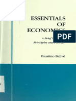 Faustino Ballvé - Essentials of Economics [a Brief Survey of Principles and Policies]