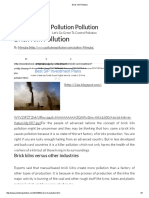 Brick Kiln Pollution