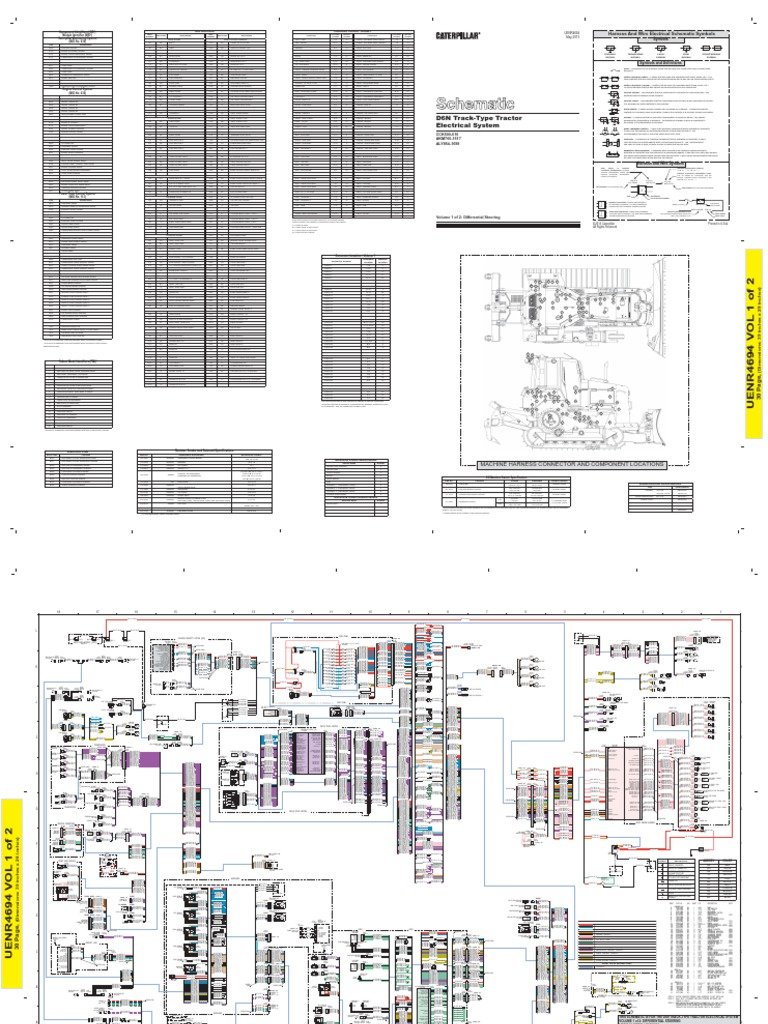 Cat D6n Bulldozer G730 Circuit Diagram