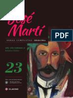 Jose Marti Tomo 23