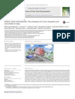 Outdoor urban nanomaterials