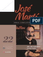 Jose Marti Tomo 22