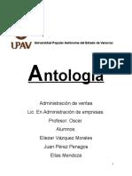 Antologia Administracion de ventas