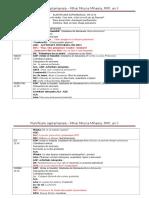 Planificare Saptamanala DDLC