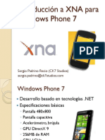 Introducción a XNA Para Windows Phone7