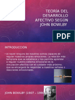 Teoría Del Desarrollo Afectivo Según John Bowlby