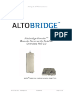 Altobridge Lite-site Technical Overview
