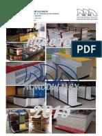 A Lista de Precios Muebles Para Tiendas y Negocios Mayo Del 2015