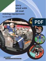 Reducing Injury Risks Associated With Underground Coal Mining Equipment