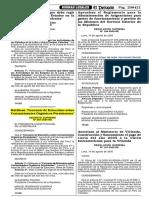D.S. Nº 067-2005-RE
