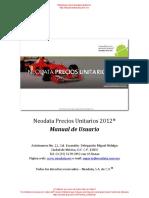 Manual Neodata PU 2012