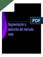 Segmentación de Mercados Doc 1