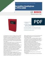 Datasheet FPA 1000 Data Sheet EsAR 5046636299