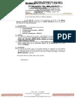 Notificacion Desmonte en La via Publica
