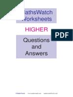 maths watch answers.pdf