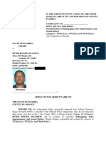 Lyft Driver Arrest