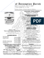 Our Lady of Assumption Parish Bulletin