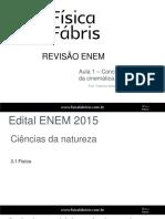 Revisão Enem - Aula 1 ~ Slides