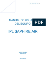 Ipl Saphire Air Manual de Usuario_user Manual