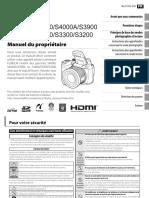 Fujifilm FX S3200 3300 3400 4000 v1 manuel en français