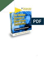 The Hidden Secrets of Mind Power Technology Introduction