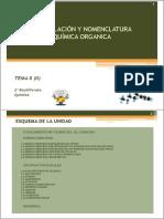 Formulacion Organica 2013