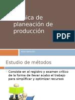 Tecnicas de Planacion de Produccion