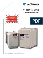 Yaskawa V7 Manuals
